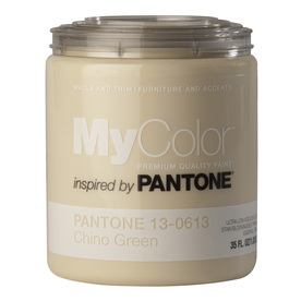 MyColor inspired by PANTONE 35-fl oz Interior Eggshell Biscotti Water-Base Paint and Primer in One