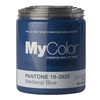 MyColor inspired by PANTONE 35 fl oz Interior Eggshell Medieval Blue Paint and Primer in One