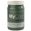 Restore Trekking Green Eggshell Water-Based Interior Paint and Primer In One (Actual Net Contents: 30-fl oz)
