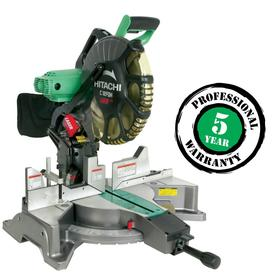 Hitachi 12-in 15-Amp Dual Bevel Compound Laser Miter Saw