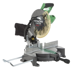 Hitachi 10-in 15-Amp Compound Laser Miter Saw