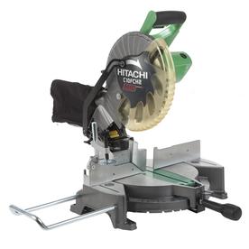 Hitachi 10-in 15-Amp Laser Compound Miter Saw