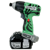 Hitachi 18-Volt 1/4-in Hex Drive Cordless Impact Driver