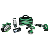 Hitachi 4-Tool 18-Volt Lithium Ion Cordless Combo Kit