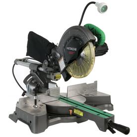 Hitachi 8-1/2-in 9.5-Amp Sliding Laser Compound Miter Saw