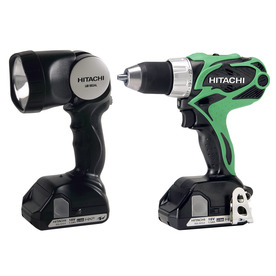 Hitachi 18-Volt 1/2-in Cordless Lithium-Ion Compact Pro Driver Drill with Case