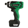 Hitachi 10D 12-Volt Lithium Ion (Li-Ion) 1/4-in Cordless Variable Speed Impact Driver with Hard Case