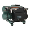Hitachi 4-Gallon Twin Stack Portable Electric Air Compressor