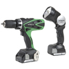 Hitachi 1/2-in 18-Volt Variable Speed Cordless Hammer Drill