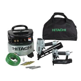 Hitachi 6-Gallon 120-Volt Pancake Portable Electric Air Compressor