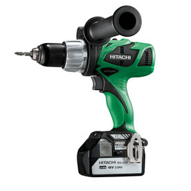 "Hitachi 1/2"" 18-Volt Variable Speed Cordless Hammer Drill"