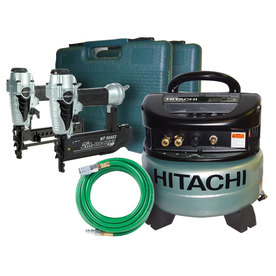 Hitachi 1.1-HP 6-Gallon 145-PSI 120-Volt Pancake Portable Electric Air Compressor