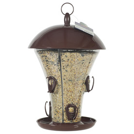 Perky-Pet 2-in-1 Plastic Hopper Bird Feeder