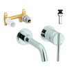 GROHE Atrio 1-Handle Single Hole/4-in Centerset WaterSense Bathroom Faucet (Drain Included)