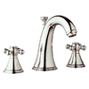 GROHE Geneva Polished Nickel 2-Handle Widespread Bathroom Sink Faucet (Drain Included)