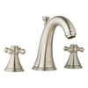 GROHE Geneva Brushed Nickel 2-Handle Widespread Bathroom Sink Faucet (Drain Included)