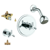 GROHE Atrio Starlight Chrome 1-Handle Shower Faucet with Single-Function Showerhead