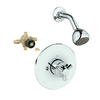 GROHE Arden Starlight Chrome 1-Handle Shower Faucet with Single-Function Showerhead