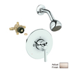 GROHE Arden Brushed Nickel 1-Handle Shower Faucet with Single-Function Showerhead