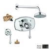 GROHE Bridgeford Oil-Rubbed Bronze 2-Handle Shower Faucet with Multi-Function Showerhead