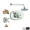 GROHE Geneva 1-Handle Shower Faucet with Single Function Showerhead
