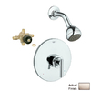 GROHE Atrio Brushed Nickel 1-Handle Shower Faucet with Single-Function Showerhead