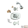 GROHE Seabury 1-Handle Bathtub and Shower Faucet with Single Function Showerhead
