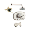 GROHE Geneva 1-Handle Bathtub and Shower with Single Function Showerhead