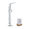 GROHE Allure Brilliant Starlight Chrome 1-Handle Adjustable Wall Mount Tub Faucet