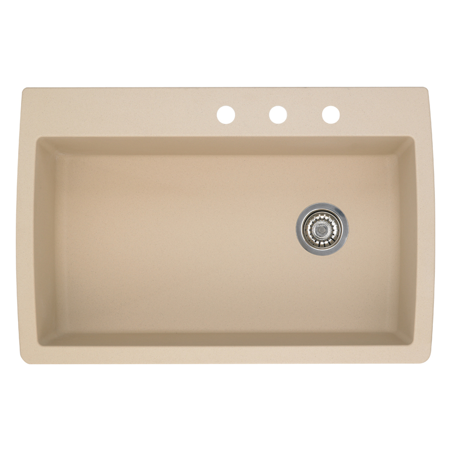 ... blanco diamond single basin drop in or undermount granite kitchen sink