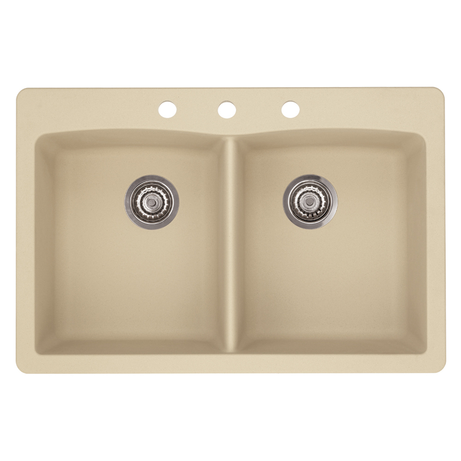 Granite Sink Price : ... Double-Basin Granite Drop-in or Undermount Kitchen Sink at Lowes.com