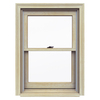 JELD-WEN Premium Wood Double Pane Annealed New Construction Double Hung Window (Rough Opening: 26.125-in x 37.25-in Actual: 25.375-in x 36.5-in)
