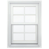 JELD-WEN Aluminum-Clad Double Pane Annealed New Construction Double Hung Window (Rough Opening: 26.13-in x 48.75-in Actual: 25.38-in x 48-in)