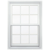 JELD-WEN Aluminum-Clad Double Pane Annealed New Construction Egress Double Hung Window (Rough Opening: 34.13-in x 64.75-in Actual: 33.38-in x 64-in)