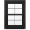 JELD-WEN Aluminum-Clad Double Pane Annealed New Construction Double Hung Window (Rough Opening: 26.13-in x 60.75-in Actual: 25.38-in x 60-in)