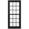 JELD-WEN Aluminum-Clad Double Pane Annealed New Construction Egress Double Hung Window (Rough Opening: 38.13-in x 72.75-in Actual: 37.38-in x 72-in)