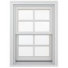 JELD-WEN Wood Double Pane Annealed New Construction Double Hung Window (Rough Opening: 26.13-in x 60.75-in Actual: 25.38-in x 60-in)