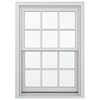 JELD-WEN Wood Double Pane Annealed New Construction Egress Double Hung Window (Rough Opening: 34.13-in x 56.75-in Actual: 33.38-in x 56-in)