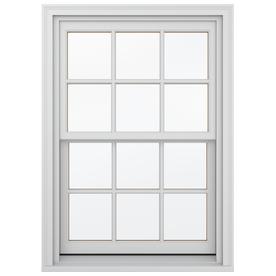 Shop jeld wen wood double pane annealed new construction for New construction wood windows