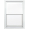 JELD-WEN Aluminum-Clad Double Pane Annealed New Construction Double Hung Window (Rough Opening: 30.13-in x 56.75-in Actual: 29.38-in x 56-in)
