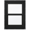 JELD-WEN Aluminum-Clad Double Pane Annealed New Construction Double Hung Window (Rough Opening: 26.13-in x 36.75-in Actual: 25.38-in x 36-in)