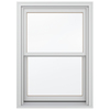 JELD-WEN Wood Double Pane Annealed New Construction Double Hung Window (Rough Opening: 30.13-in x 56.75-in Actual: 29.38-in x 56-in)