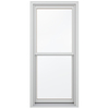 JELD-WEN Wood Double Pane Annealed New Construction Egress Double Hung Window (Rough Opening: 32.13-in x 72.75-in Actual: 31.38-in x 72-in)