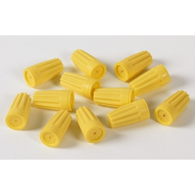 SafetyGuard 50-Pack Plastic Standard Wire Connectors