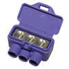Alumiconn 2-Pack Plastic Standard Wire Connector