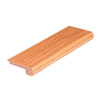 FLEXCO 2-3/4-in x 78-in Red Oak Natural Stair Nose Moulding