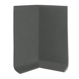FLEXCO 30-Pack 4-in W x 0.25-ft L Black Brown Rubber Inside Corner Wall Base