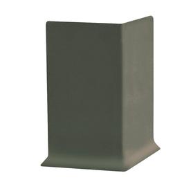 FLEXCO 30-Pack 2.5-in W x 0.25-ft L Black Brown Rubber Outside Corner Wall Base