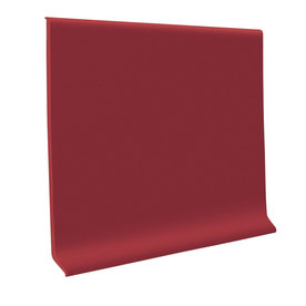 FLEXCO 30-Pack 2-1/2-in W x 4-ft L Berry Flexco Vinyl Wall Base RBR