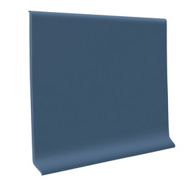 "FLEXCO 4""W x 4'L Blue Wall Base"